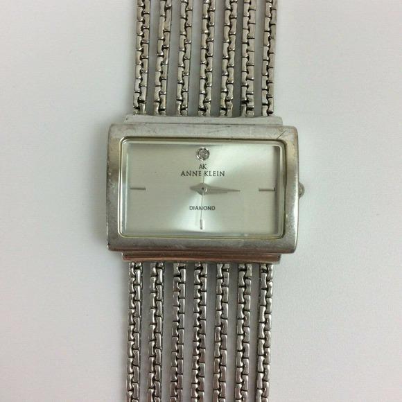 Anne Klein Diamond Ladies Watch  Multi Chain